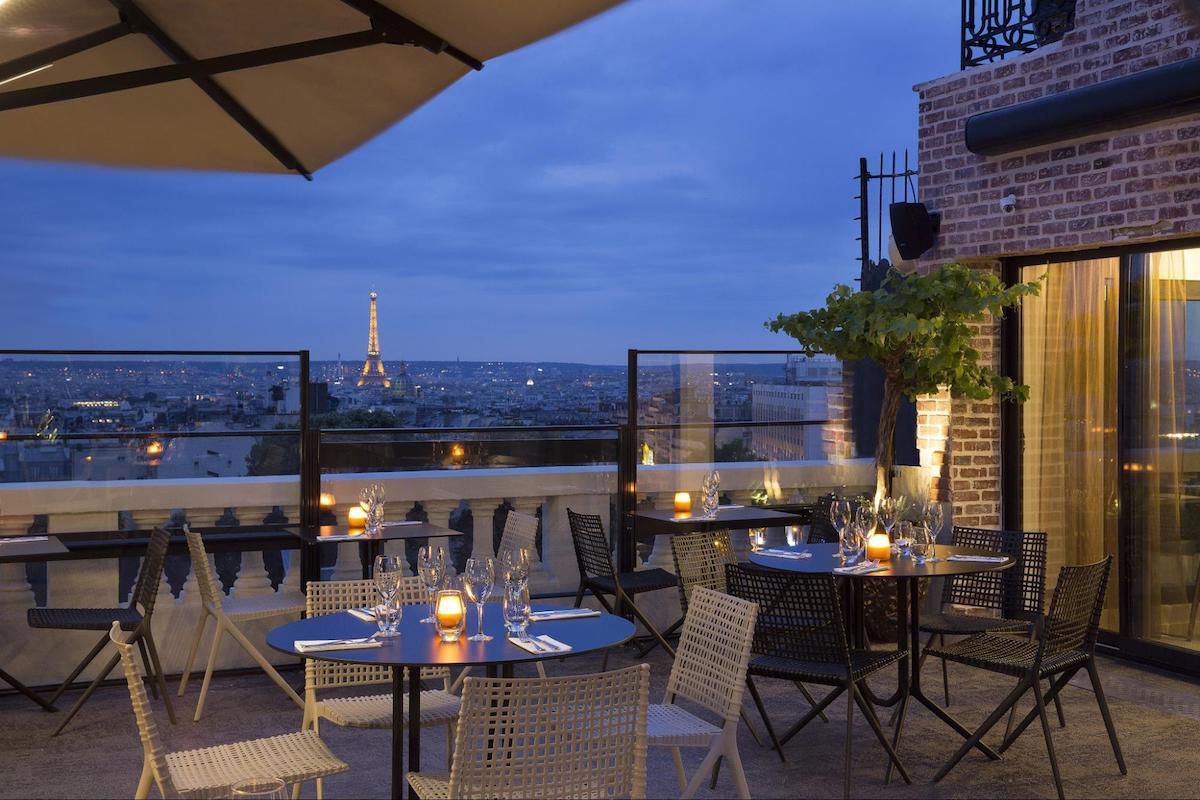 Drinks with a view: The best rooftop bars in Paris - Parallel